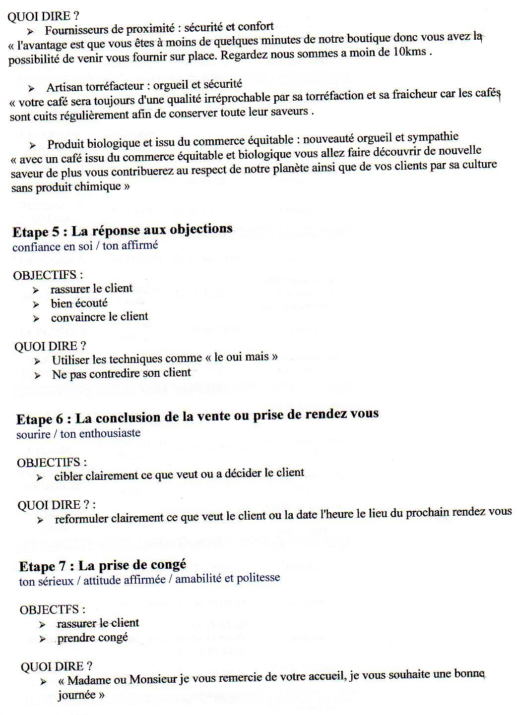 Fiche Négociation Bac Pro Vente Exemple - Exemple de Groupes